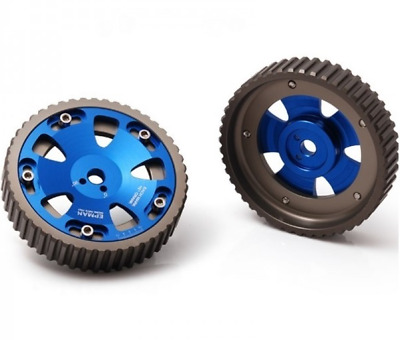 Adjustable Cam Pulley Gears Nissan CA18DET CA18 200sx Silvia PS S Chassis Blue