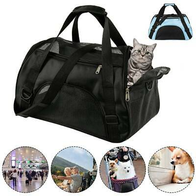 Pets Fabric Dog Crate Puppy Carrier Cat Travel Cage Carry Portable Bag Holder