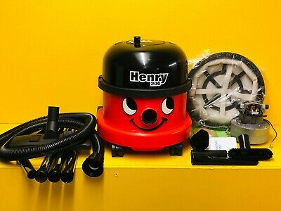 Numatic Henry Hoover - Big Red - Vacuum Cleaner - *1200W Double Dual Speed!*