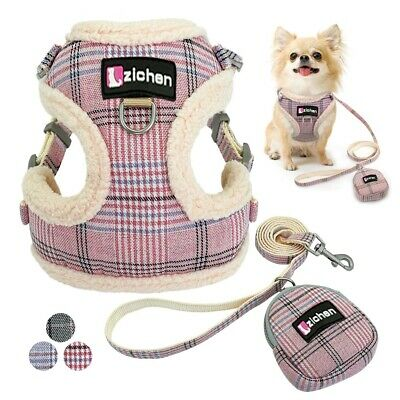 Breathable Pet Dog Harness Adjustable Vest Nylon Puppy Leash Training Warking