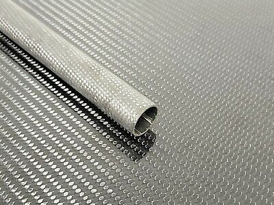 Carbon Fiber Tube Plain Weave 0.87 x 1.0 x 21.75 inch (listed 8-29-19)