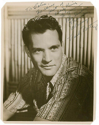 Carl Betz - Autographed Inscribed Photograph