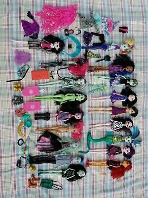 18 Monster High Doll Lot  Frankie, freaky fushion Draculaura Nude for Play/OOAK