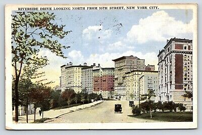 Riverside Drive Looking North From 95th Street, New York City, New York Postcard