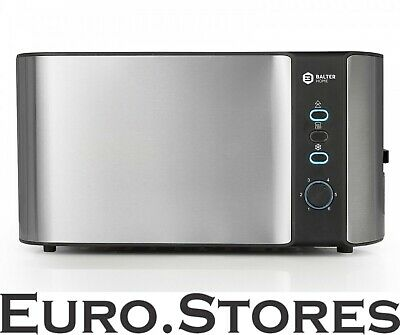 Balter Toaster 4 slices long slit stainless steel 1500W NEW