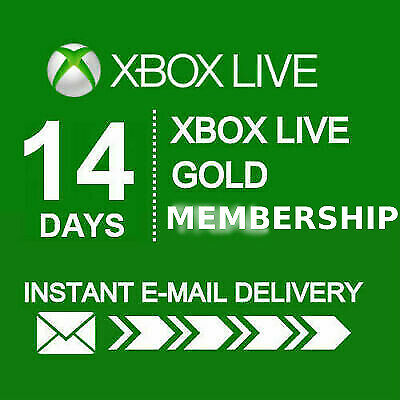 14 Days Xbox Live Gold Membership (Xbox One/360) Digital Code🔥 Fast Delivery 🔥