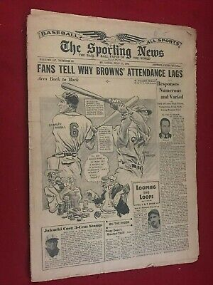 The Sporting News  Base Ball Paper of the World  July 13, 1944