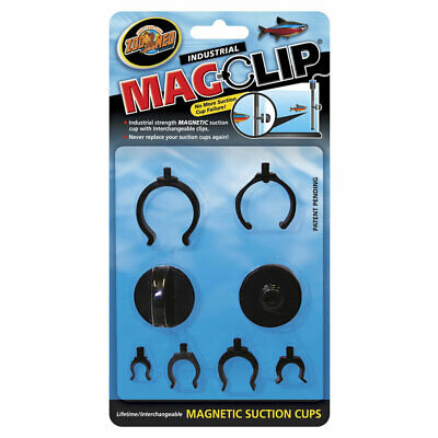 Zoo Med MagClip Magnetic Suction Cups Aquarium Terrarium Betta Tropical Heater