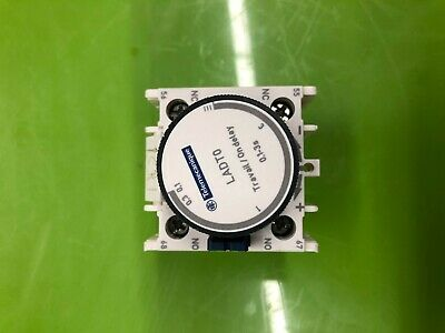 Telmecanique Schneider LADT0 Contactor Time Delay Auxiliary Contact Block