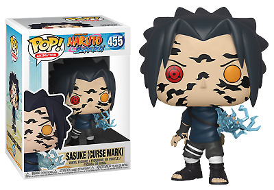 Funko Pop Naruto Shippuden Sasuke With Cursed Mark New Mint Read Description