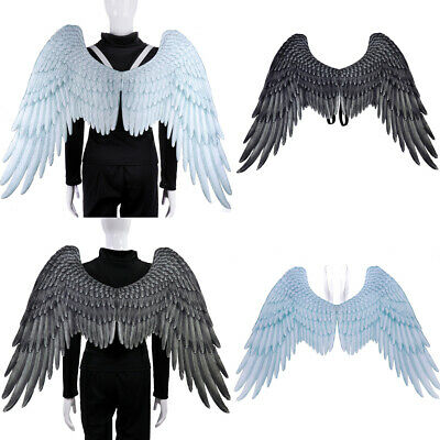 Fashion Feather Wings Angel Fairy Fancy Dress Costume Halloween Party FavorBILS