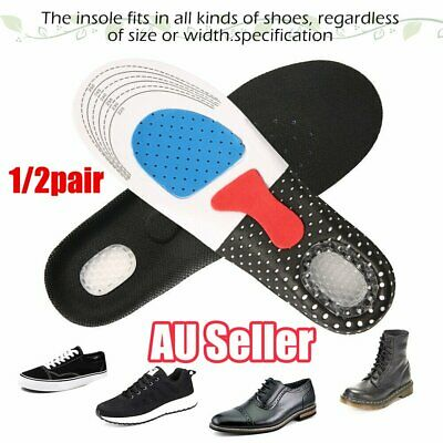 2Pairs Caresole Plantar Fasciitis Insoles Sport FootConfortPlus Feeling Younger