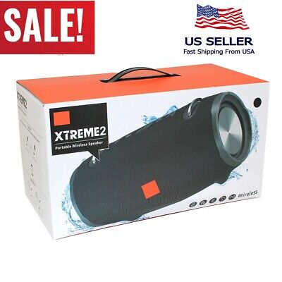 Brand New! Xtreme 2 Portable wireless waterproof Bluetooth Speaker Style stereo