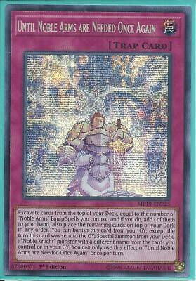 Yugioh MP19-EN225 Until Noble Arms are Needed Once Again Prismatic NM 1st Ed