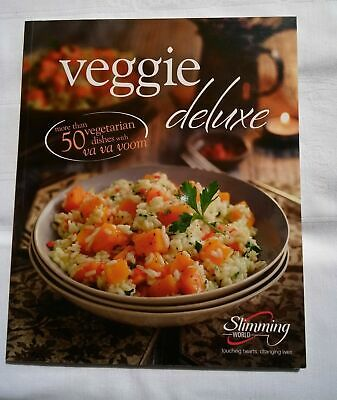 Slimming World Veggie Deluxe -119 Pgs Of Delicious Low Syn Recipes! Ex Condition