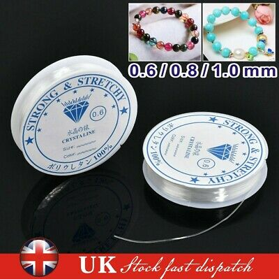 1/3pcs Elastic Stretchy Beading Thread Cord Bracelet String For Jewelry Making