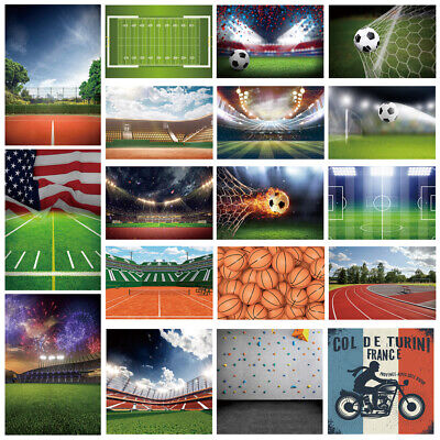 Sports Stadium Match Competition Backdrop Photography Prop Background Scene Show