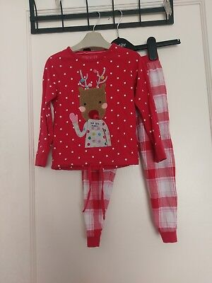 M&S Marks And Spencer Girls  Pyjamas Age 3-4 Years #S