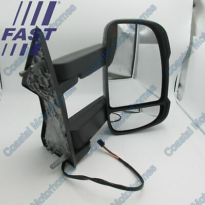 Fiat Ducato Peugeot Boxer Citroen Relay LHD Right Long Arm Mirror 2006-Onwards