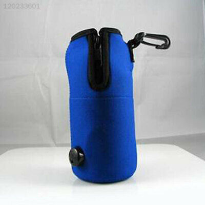 Portable Baby Food Milk Water Bottle Warmer Heater Cover For Auto Car Travel'