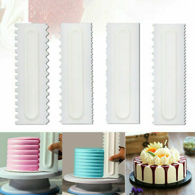 4pc Buttercream/Icing Smoother Cake Decorating Tool Sugar craft