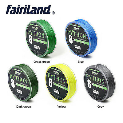 Asso PE Ultra Light Thin Games 3X PE Braided Fishing Line 100 m Green Trout Area