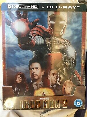 Iron Man 2 steelbook 4K Ultra HD Zavvi Neuf sous blister