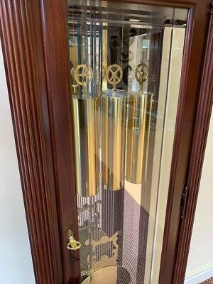 New Howard Miller Reproduction Longcase clock westminster chimes