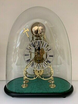 Antique Fusee Skeleton Clock Circa 1840