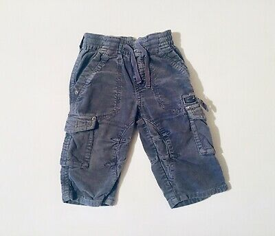 Next Baby Boys Trousers Grey Chino Style 9-12 Months Casual