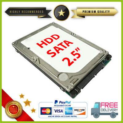 "Hard disk drive 2.5"" HDD per notebook ps3 slim 160Gb 250Gb 320Gb 500Gb 750Gb 1TB"