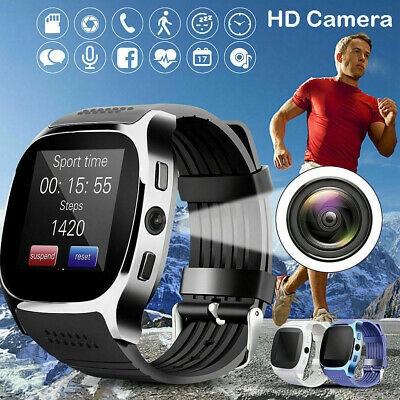 HD Display Bluetooth Smart Watch Blood Pressure Men Women For Android iphone UK