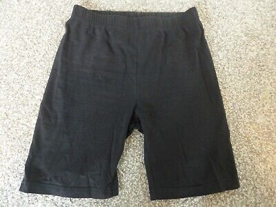Black girls school PE shorts age 10 years from TU