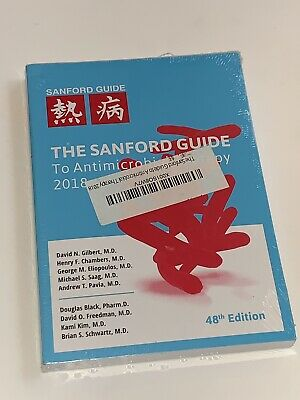 Sanford Guide to Antimicrobial Therapy 2018