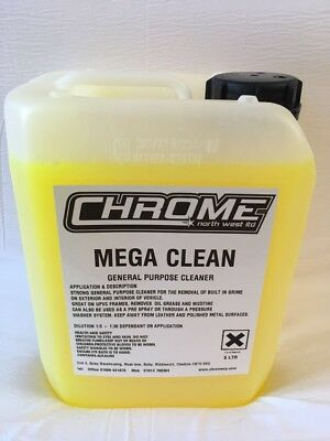 """Chrome Cleaning Products 5 LTR """"Mega Clean"""""""