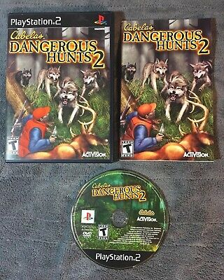 Cabela's Dangerous Hunts 2 — Complete! (Sony PlayStation 2, PS2, 2005)