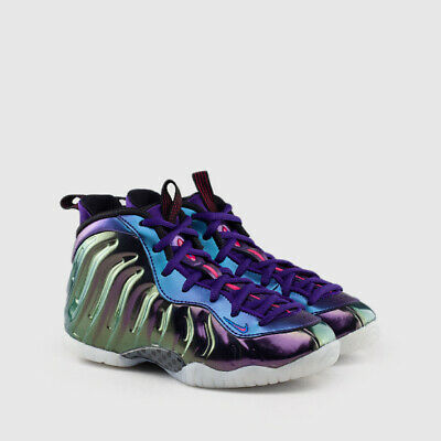 new arrival 90fe0 78f85 NIKE FOAMPOSITE LIL Posite One Iridescent Pink Rush Blue ...