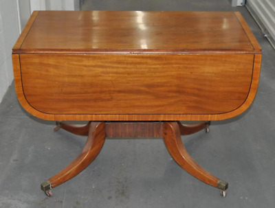 Early 19Th Century English Regency Mahogany Breakfast Table C.1815
