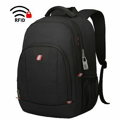 Laptop Backpack,15.6 Inch Laptop Rucksack for Men and Women Anti Theft Water Res