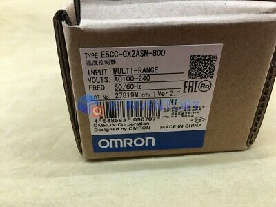 1PCS Omron Temperature Controller E5CC-CX2ASM-800 100-240VAC