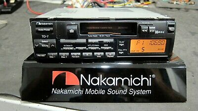 Nakamichi TD-7 Mobile Receiver Cassette Deck - Good working order