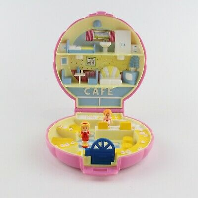 POLLY POCKET 1989 Polly's Cafe *COMPLETE*
