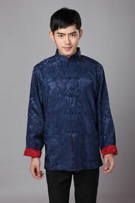 5Men Traditional storytelling Chinese Tang Suit Coat Comic Uniform Jacket Cloth