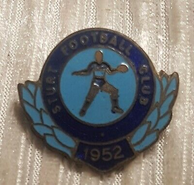 1952 STURT South Australia Enamel Football Club Badge -