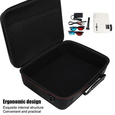 Portable Projector Storage Bag Shockproof Travel Carrying Case Cover Organizer