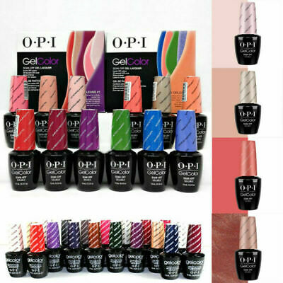 OPI GelColor Soak Off Gel Nail Art Polish Led UV/LED Lacquer Base Top Coat Decor