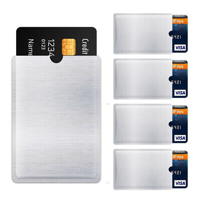 Cards Protector Case Protect Case Cover Card Holder Sleeve Wallet RFID Blocking