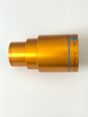 ISCO OPTIC Ultra Star HD f= 70mm 2.76 in. MC Cine Projection Lens
