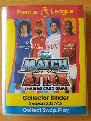 Match Attax Season 2017/18 Full Complete Album Plus 23 Out Of 24 Limited Edition