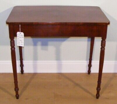 Good Quality Antique 19Th Century Mahogany Side Centre Sofa  Chamber Table